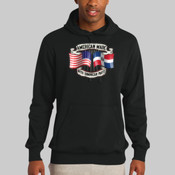 American Made With Dominican Parts Dominican Republic Hoodie