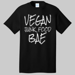 Vegan Junk Food BAE Funny Plant Based Diet Vegan T Shirt